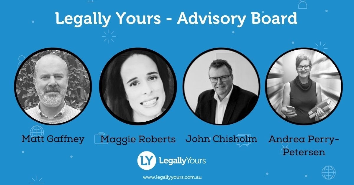 Legally Yours Announces Advisory Board
