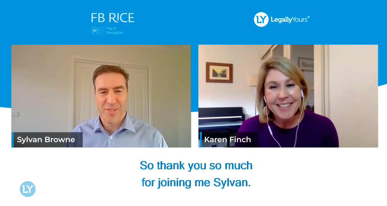 """Lawyer Feature – """"Can I patent That?"""" with Sylvan Browne from FB Rice"""