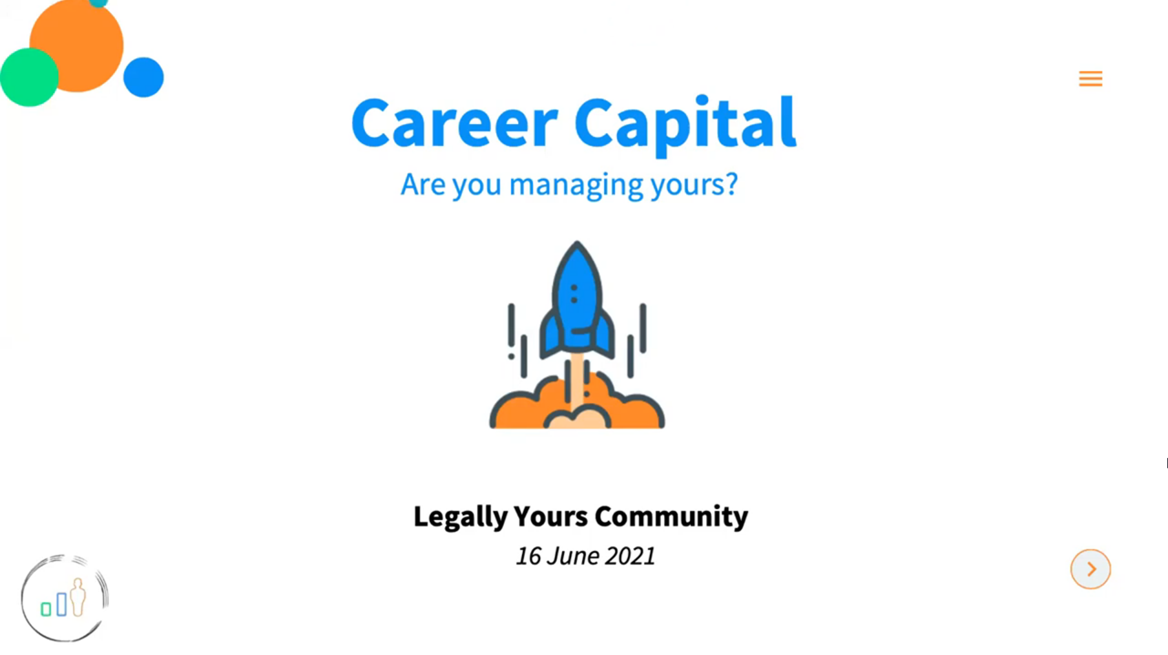 Legally Yours and Silicon Beach present 'Career Capital' with Julie Dal Santo