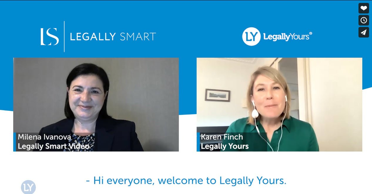 Legally Yours & Milena Ivanova from Legally Smart