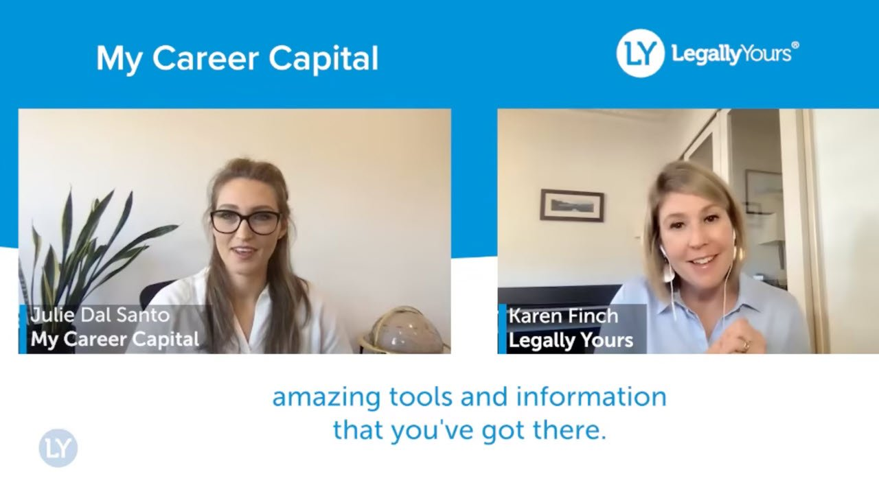 Legally Yours and My Career Capital – The Design and Features of the Platform