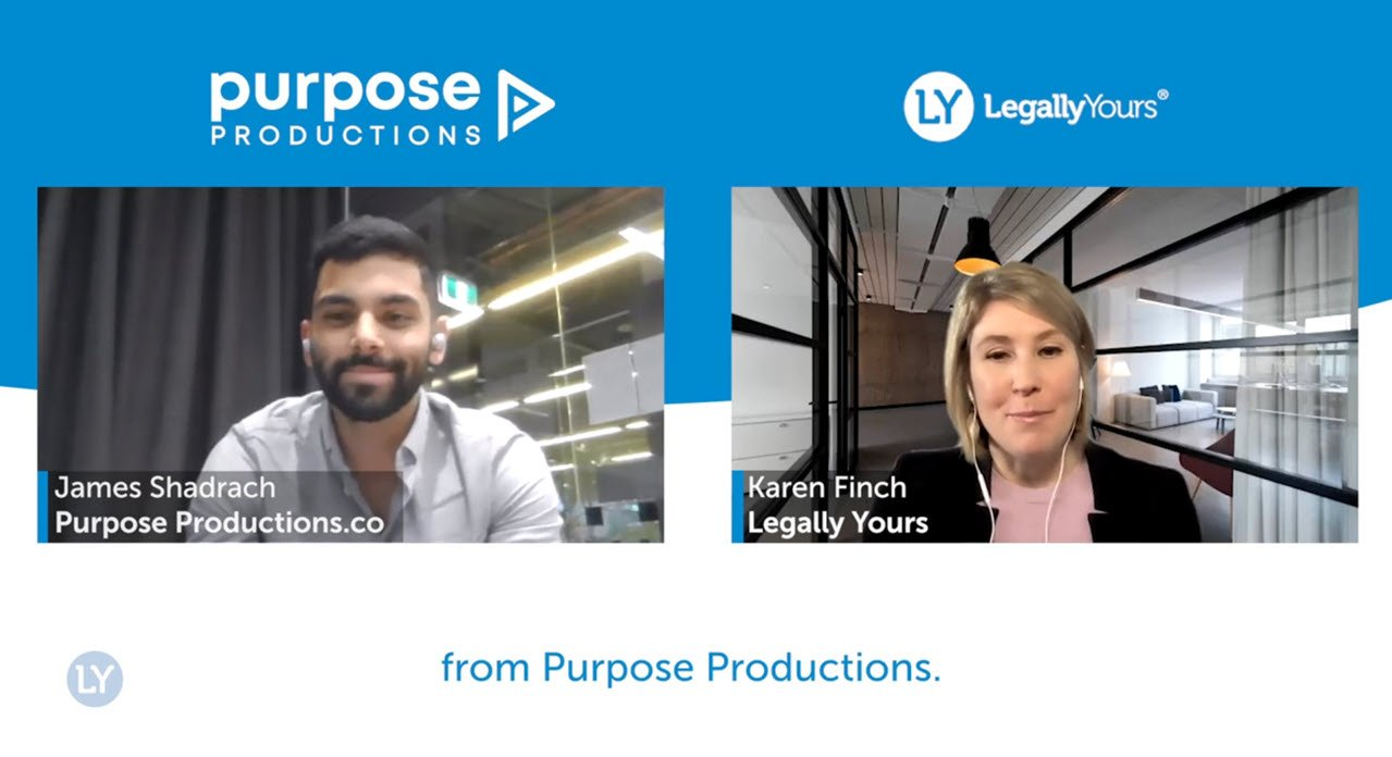 Legally Yours and Purpose Productions – How to Structure Video Content for Maximum Impact