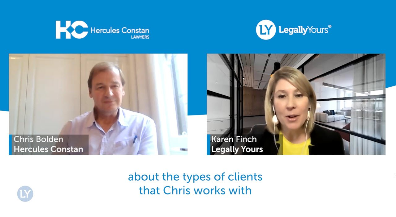 Legally Yours and Chris Bolden from Hercules Constan – The Clients