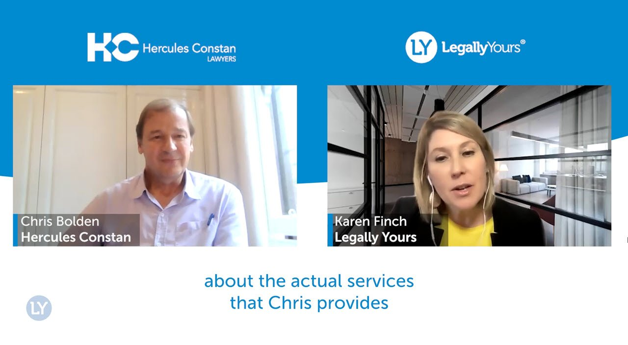 Legally Yours and Chris Bolden from Hercules Constan – The Services