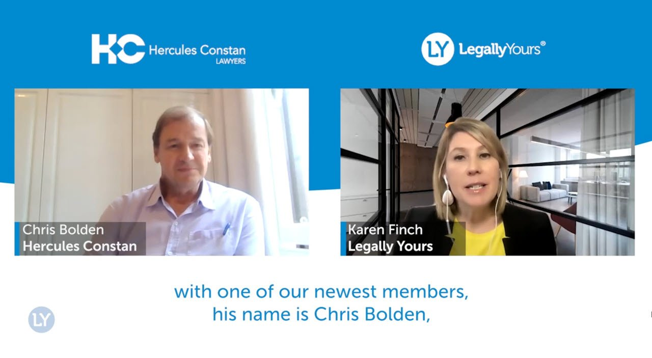 Legally Yours and Chris Bolden from Hercules Constan – The Story