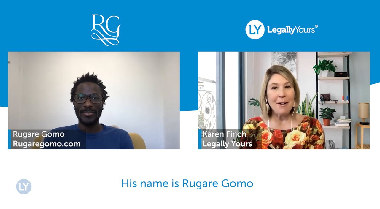 Legally Yours and Rugare Gomo – Dealing with Failure Powerfully