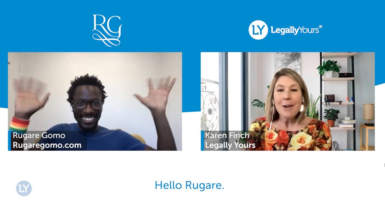 Legally Yours and Rugare Gomo – How to Celebrate Your Wins