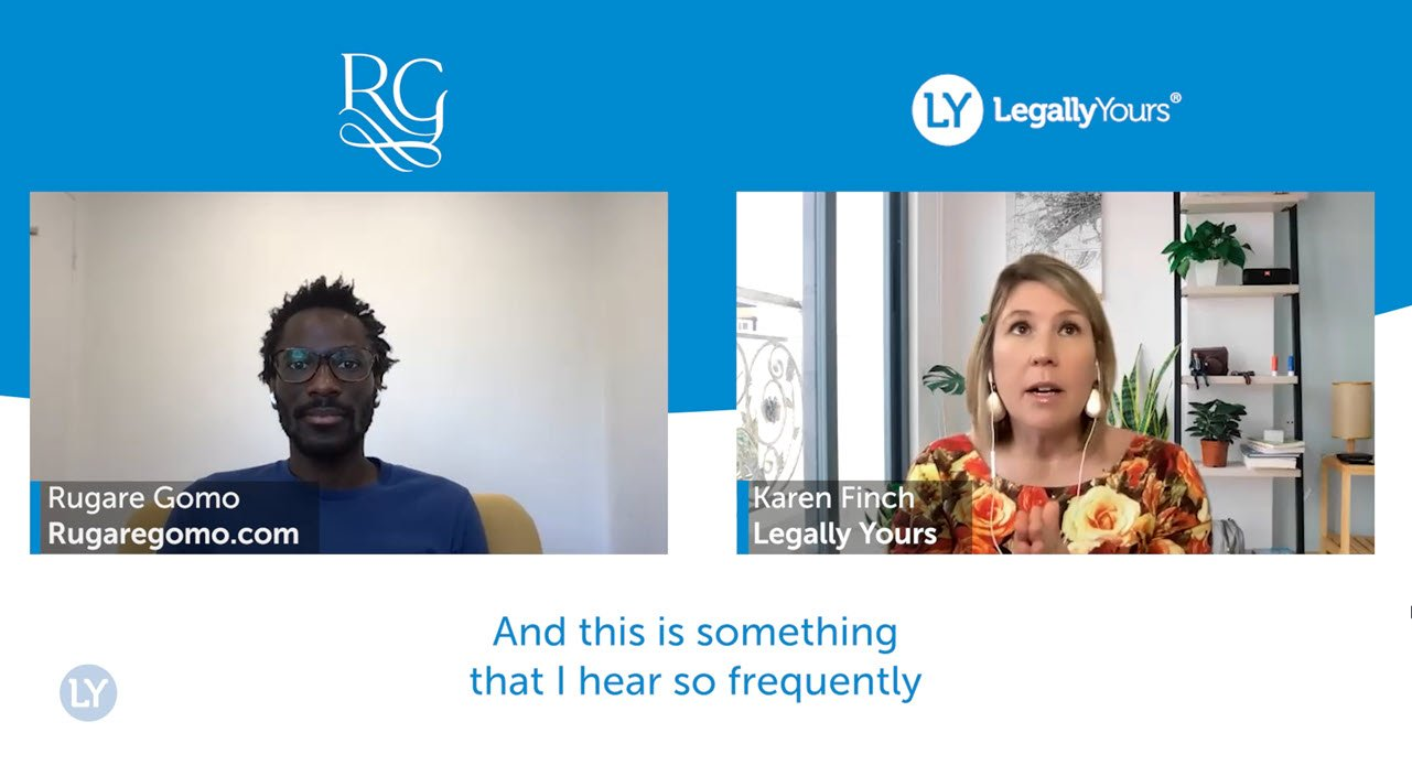 Legally Yours and Rugare Gomo – How to Set Up Your Business to Succeed Without You