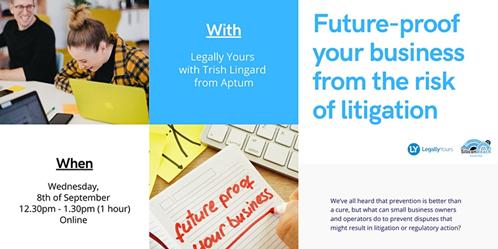 Future-proof your Business from the Risk of Litigation