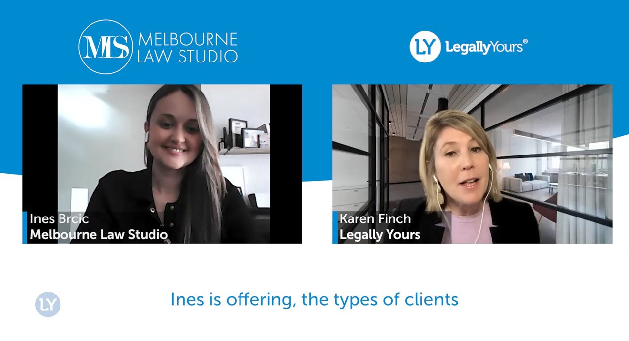 Q&A Lawyer Feature with Ines Brcic from Melbourne Law Studio