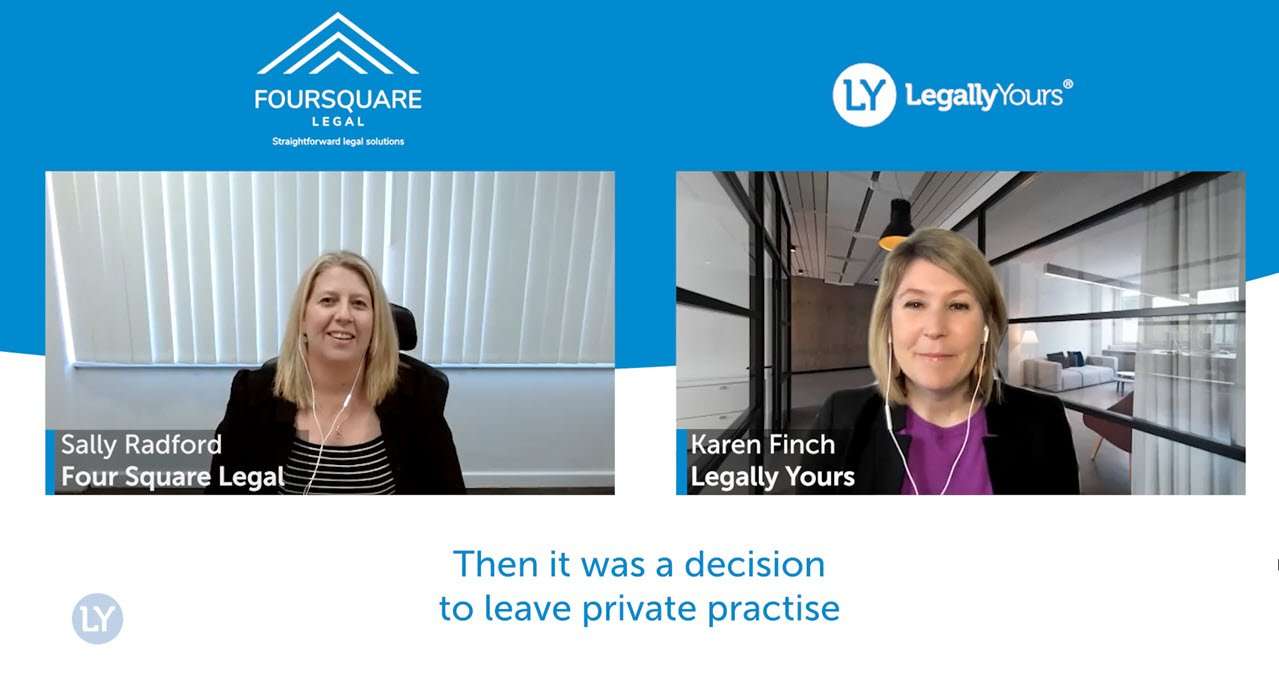 Q&A Lawyer Feature with Sally Radford Founder of Foursquare Legal