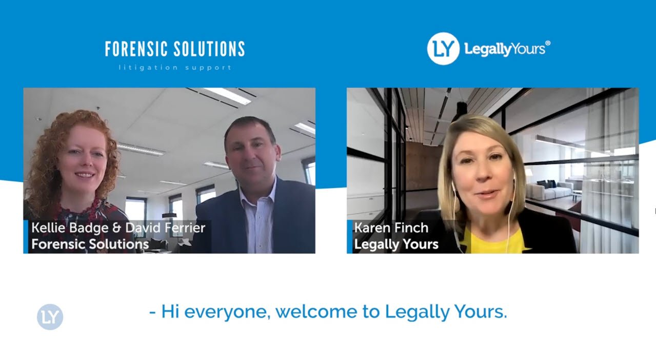 Legally Yours and Forensic Solutions – The Story