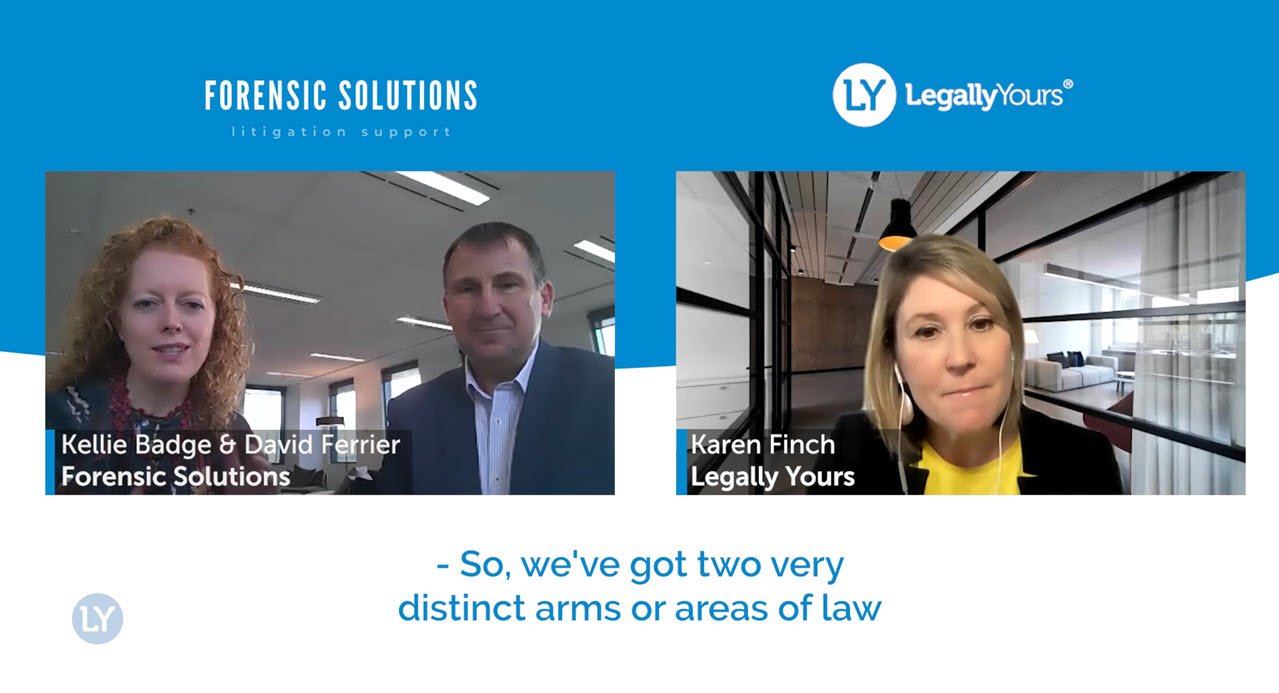 Legally Yours and Forensic Solutions – The Success Stories