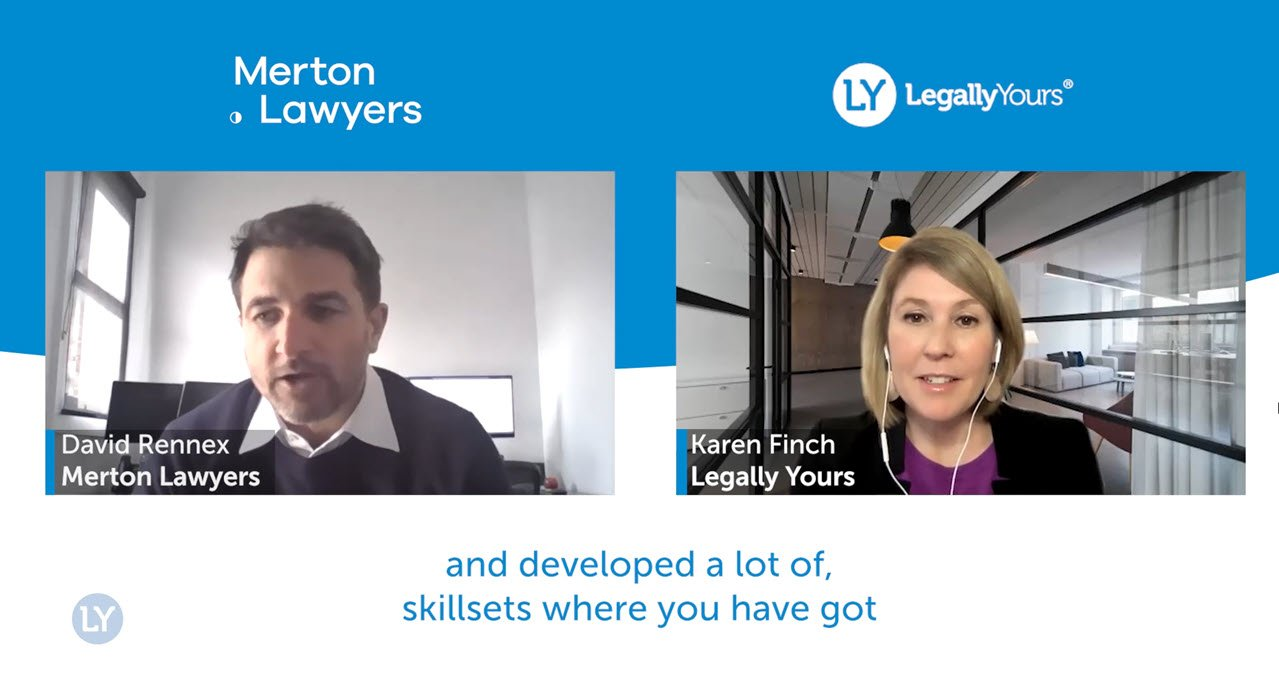 Q&A Lawyer Feature with David Rennex from Merton Lawyers