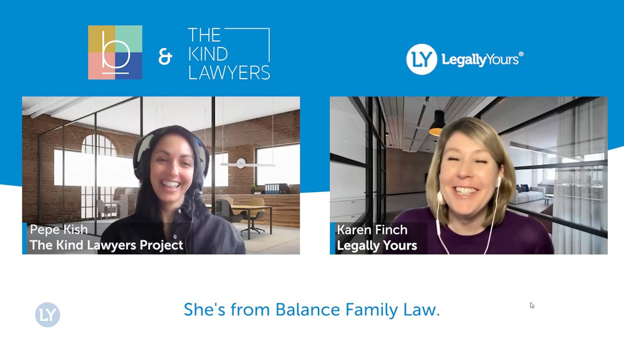 Perpetua Kish from Balance Family Law and The Kind Lawyer Project
