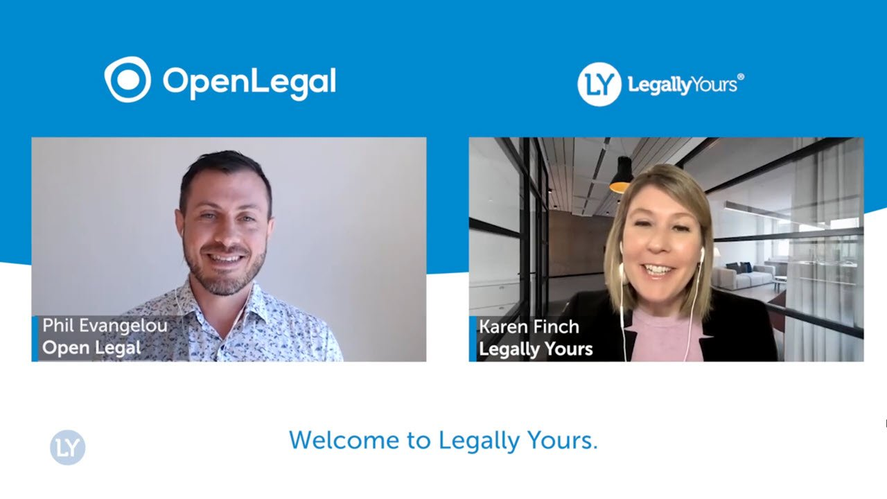 Phil Evangelou from Open Legal Q&A Lawyer Feature