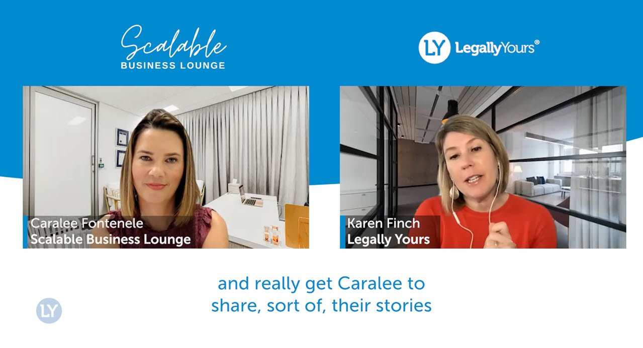 Q&A Lawyer Feature with Caralee Fontenele Founder of the Scalable Business Lounge