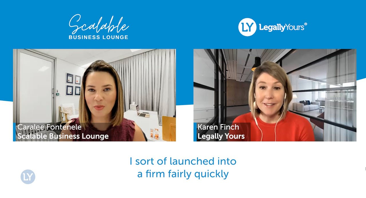 The Story with Caralee Fontenele / the Scalable Business Lounge